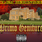 The album cover for posh Brit rapper Clem Beringer's album 'Primo Geniture'. No one got this joke, or no one cared.